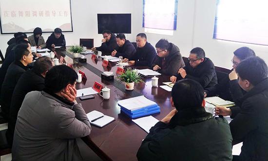 市退役军人事务局局长郭海平我县调研指导工作