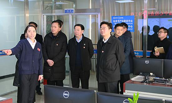 李亦博等领导看望慰问一线干部职工察看安全生产工作 中国财经新闻网 www.prcfe.com