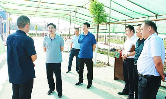 李亦博調研扶貧產業發展工作