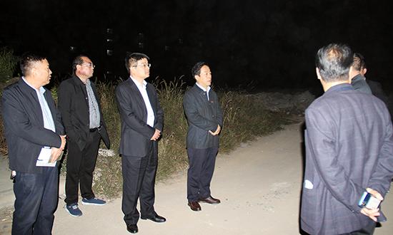 """张书民督导""""三散""""污染治理工作 中国财经新闻网 www.prcfe.com"""