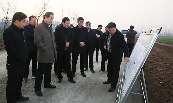副市長徐匯川來我縣調研農村危房改造、交通扶貧工作開展情況