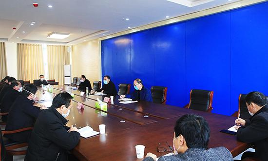 我縣召開教育系統疫情防控工作專班會議